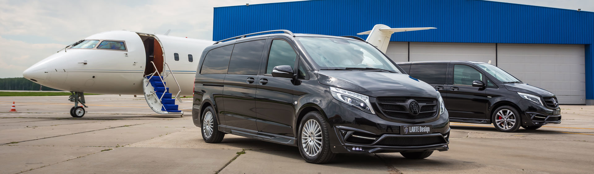 All new Mercedes Benz V Class